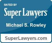 Super Lawyer badge for Michael Rowley